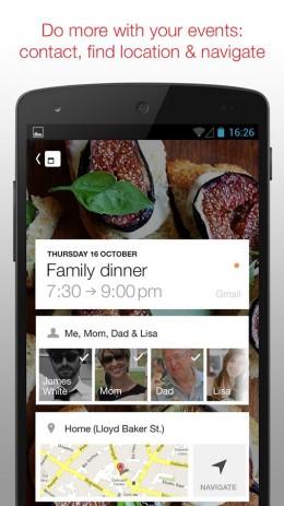 Скриншот Календарь