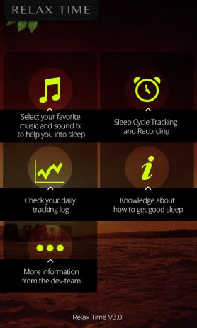 Скриншот цикл сна