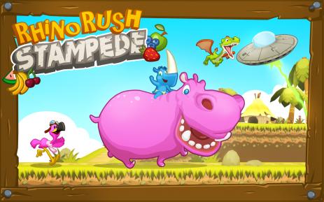 Rhino rush: Stampede  - thumbnail