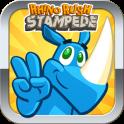 Rhino rush: Stampede - icon