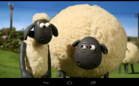 Скриншот Shaun the sheep cartoon
