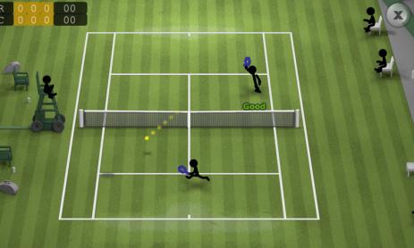 Скриншот Stickman Tennis
