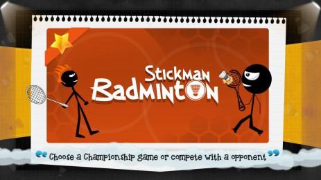 Stickman Badminton - thumbnail