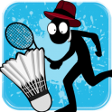 «Stickman Badminton» на Андроид