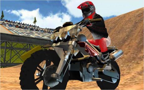 Poster Dirt Bike Motocross Rally
