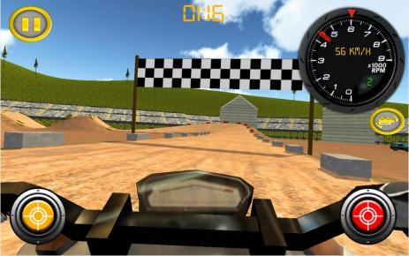 Скриншот Dirt Bike Motocross Rally