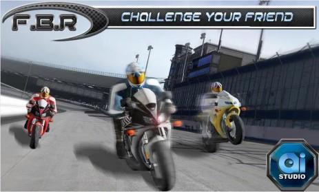 Poster Fast Bike Racing