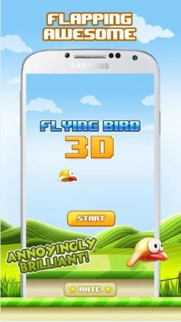 Flying Bird 3D | Android
