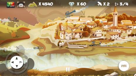 Скриншот Mini Dogfight