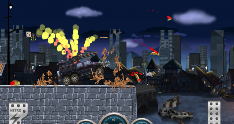 Скриншот Монстр Автомобиль Hill Racer