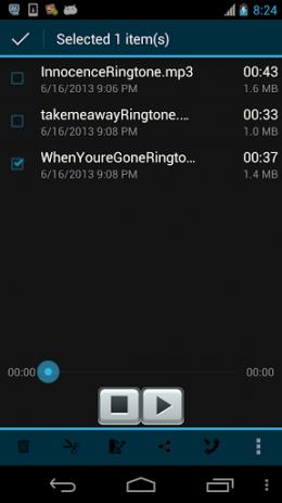 Скриншот Ringtone Maker