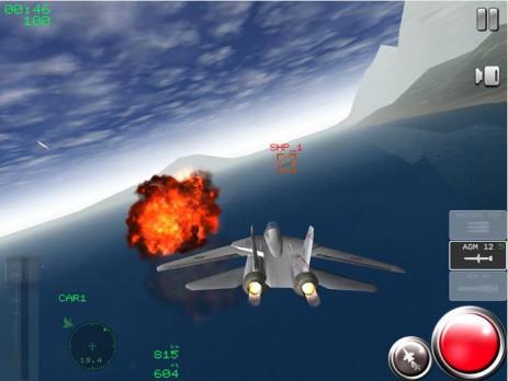 """Poster <span lang=""""ru"""">Air Navy Fighters Lite</span>"""