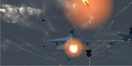 Скриншот Air War 3D: Invasion