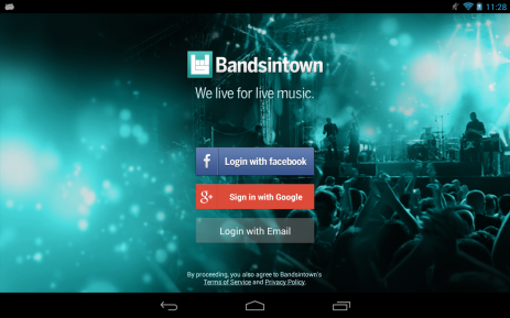 Bandsintown Concerts | Android
