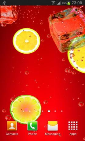 Скриншот Коктейли и напитки живые обои