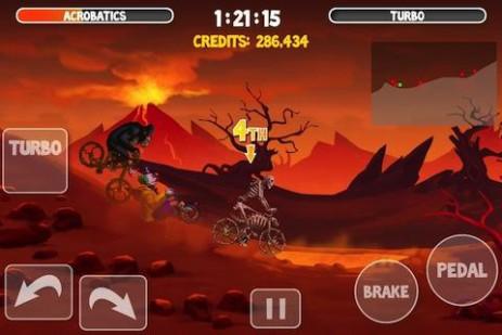 Скриншот Crazy Bikers 2 Free