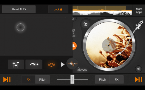 DJ вертушка edjing | Android