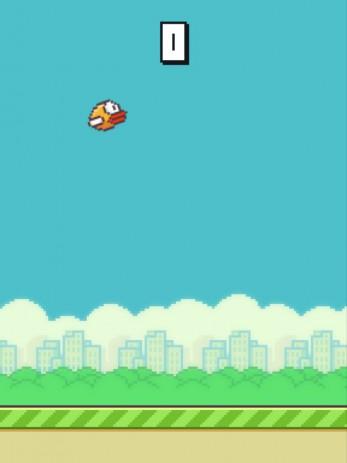 Скриншот Flappy Bird