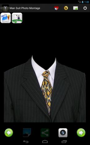 Man Suit Photo Montage - thumbnail
