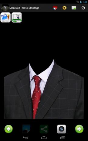 Скриншот человек костюм Фоторамки