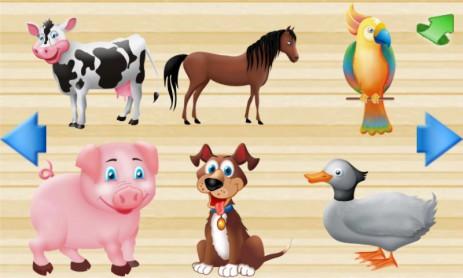 Скриншот Первые слова для детей FREE