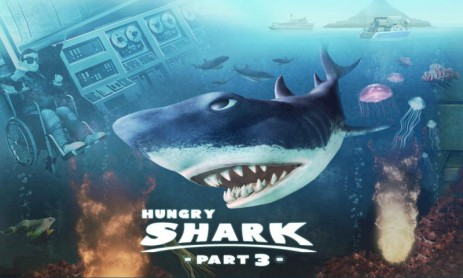 Poster Hungry Shark - Part 3