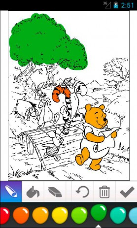 Winnie the Pooh Coloring | Android