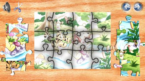 Скриншот Winnie The Pooh Puzzle