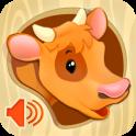 «Животные для малышей — картинки с озвучкой» на Андроид