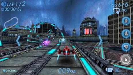 "Poster <span lang=""ru"">Space Racing 3D - Star Race</span>"