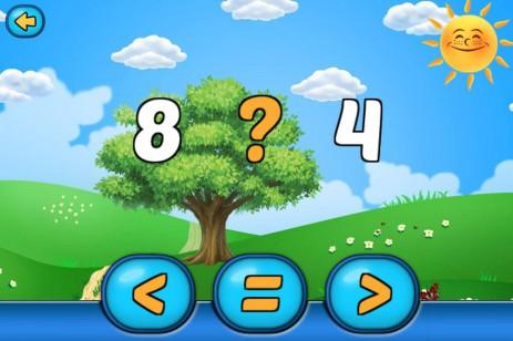 Скриншот Математика для дошкольников