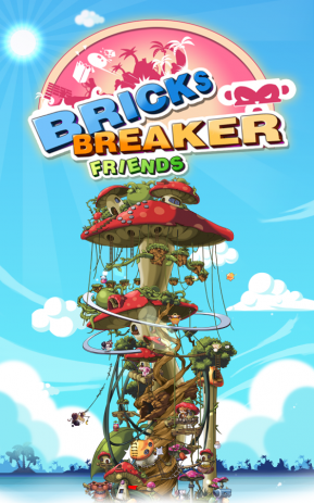BRICKS BREAKER - FRIENDS | Android