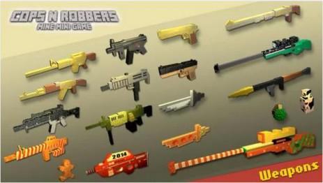 Скриншот Cops N Robbers