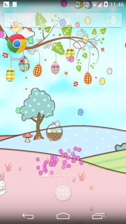 Скриншот Счастливой Пасхи