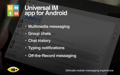 IM+ интернет-месенджер | Android