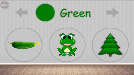 Скриншот Учим цвета для детей, малышей - развивающая игра