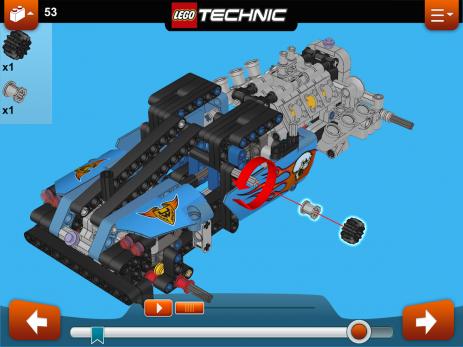 Скриншот LEGO® Building Instructions