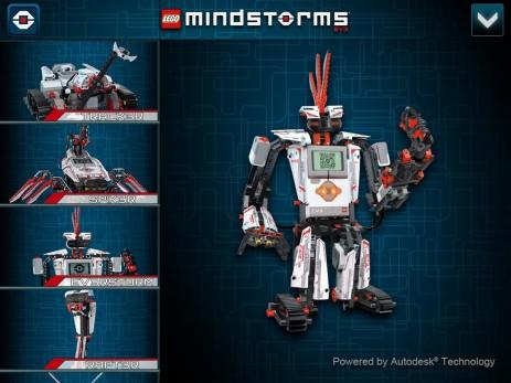 LEGO® MINDSTORMS® 3D Builder - thumbnail