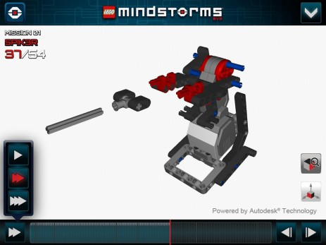Скриншот LEGO® MINDSTORMS® 3D Builder
