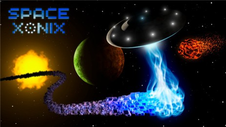 "Poster <span lang=""ru"">Space Xonix ForFriends Edition</span>"