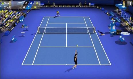 Скриншот Теннис пальцем 3D - Tennis