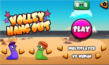 Скриншот Volleyball Hangout