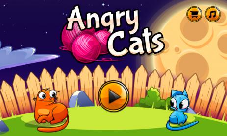Angry Cats - thumbnail