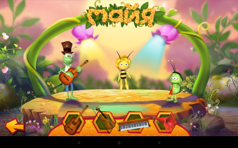 Скриншот Пчела Майя Цветочная вечеринка