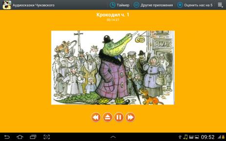 Аудиосказки Чуковского деткам | Android