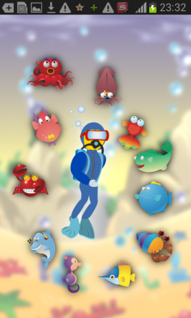 Море дайвера - игры для детей | Android