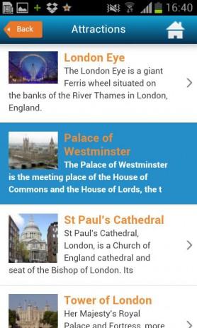 Лондон. Отели, погода, гид | Android