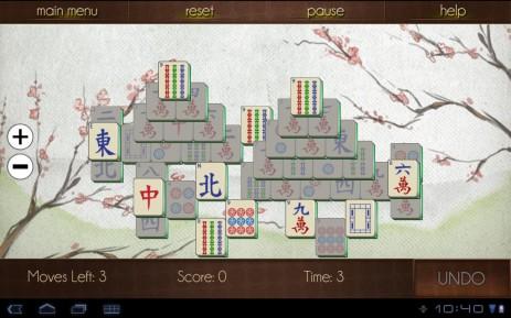 Скриншот Маджонг навсегда