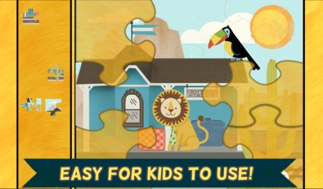 Паровозики для детей: Пазлы | Android