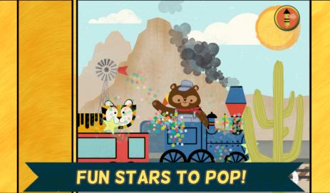 Скриншот Паровозики для детей: Пазлы